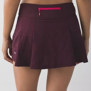 Lululemon pace and rival skirt size 4